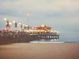 A Pier in Summer in USA Fotografisk tryk af Myan Soffia