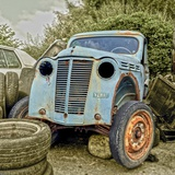 Rusty Old Truck Photographic Print by Salvatore Elia