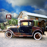 Old Rusty Car in America Photographic Print by Salvatore Elia