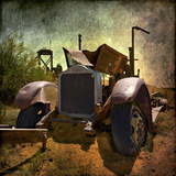 Rusty Old Truck in America Photographic Print by Salvatore Elia