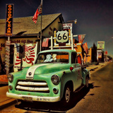 Retro Americana Garage Photographic Print by Salvatore Elia