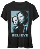 Juniors: X-Files- Pastel Agents Panel T-shirts
