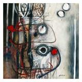 Sous verre Posters by Sylvie Cloutier