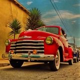 Vintage Classic Truck Photographic Print by Salvatore Elia