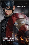 Captain America- Civil War One Sheet Mounted Print
