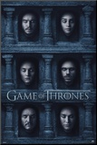 Game Of Thrones- Hall Of Faces Mounted Print