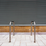 Metallic Material on the Street Fotografisk tryk af Craig Roberts
