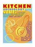 Kitchen Archeology - Zester Prints by Lauder Bowden