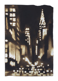 New York Aglow - Lexington Prints by Paul Chojnowski