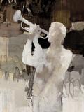 Jazz Trumpet Giclée-tryk af Mark Chandon