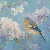 Birds in Blossom - Detail II Affiche par Sarah Simpson