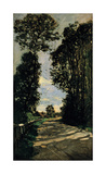 Road of the Farm Saint-Simeon Premium Giclee Print by Claude Monet