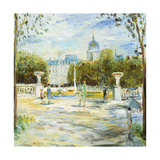 Parisian Afternoon I Premium Giclee Print by Marysia Burr
