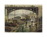 The Coalmen, c.1875 Premium Giclee Print by Claude Monet