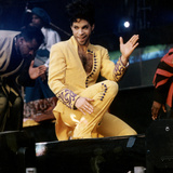 Prince Pop Star Photographic Print