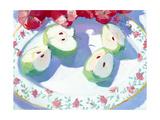 Fruit Platter II Giclee Print by Carolyn Biggio