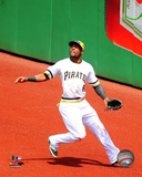Starling Marte 2014 Action Photo