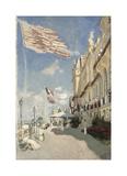 Hotel des Roches Noires, Trouville, 1870 Premium Giclee Print by Claude Monet