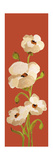Panels-Red Earth Poppies 2 Prints by Soraya Chemaly