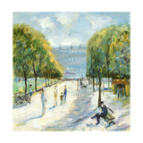 Parisian Afternoon IV Premium Giclee Print by Marysia Burr