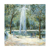 Parisian Afternoon III Premium Giclee Print by Marysia Burr