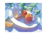 Fruit Platter I Giclee Print by Carolyn Biggio