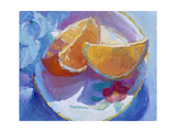 Fruit Slices I Giclee Print by Carolyn Biggio