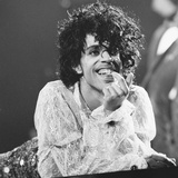 Prince Pop Star Photographic Print by Mike Maloney