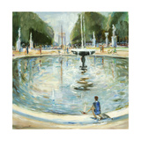 Parisian Afternoon II Premium Giclee Print by Marysia Burr