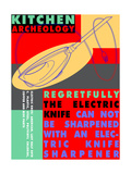 Kitchen Archeology - Electrc Knife Prints by Lauder Bowden