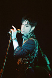 Prince Performing on Stage During His 'Ultimate Live Experience Tour' Photographic Print by Richard Nelmes