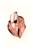 Faceted Gem Rose Posters by Natasha Marie