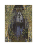 A Corner of the Apartment, 1875 Premium Giclee Print by Claude Monet