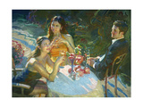 The Reception Premium Giclee Print by John Asaro