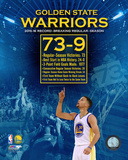 Golden State Warriors record breaking regular season 73-9 Photo