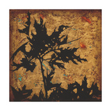 Autumn Fusion 4 Premium Giclee Print by Debbie Angell