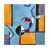 Composition Square 2 Premium Giclee Print by Lee Crew
