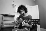 Frank Zappa, Pictured in London in 1971 Photographic Print by Bill Rowntree