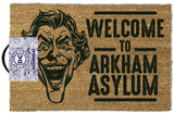 The Joker Welcome To Arkham Asylum Door Mat Regalos