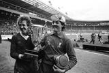 Liverpool V Tottenham Hotspur, 1982 Reproduction photographique par Cook Olley