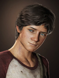 Uncharted 3: Drake's Deception - Character Render of Drake Print