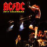 AC/DC 2017 Calendar Kalendere
