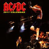 AC/DC 2017 Calendar Calendarios