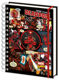Deadpool A5 Notebook Diario