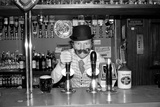 Bobby Moore Prepping for Opening of His Public House Called Moore's, Stratford Broadway, London Photographic Print by Kent Gavin