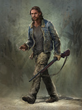 Last of Us: Concept Art - Character Art Poster