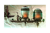 Ratchet And Clank: All 4 One - Environment Concept Art Stampe