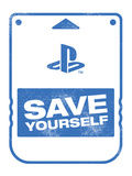 Playstation Brand Art Stampa