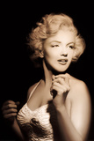 Marilyn Monroe- Quiet Moment In The Spotlight Photo