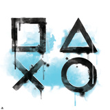 Playstation Brand Art Poster
